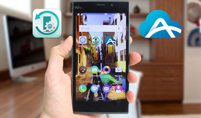 synchroniser Wiko sur PC