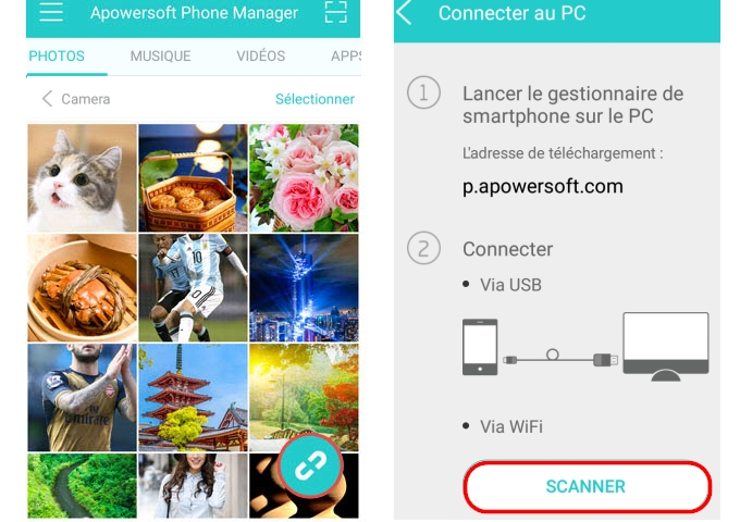 application mobile pour Android