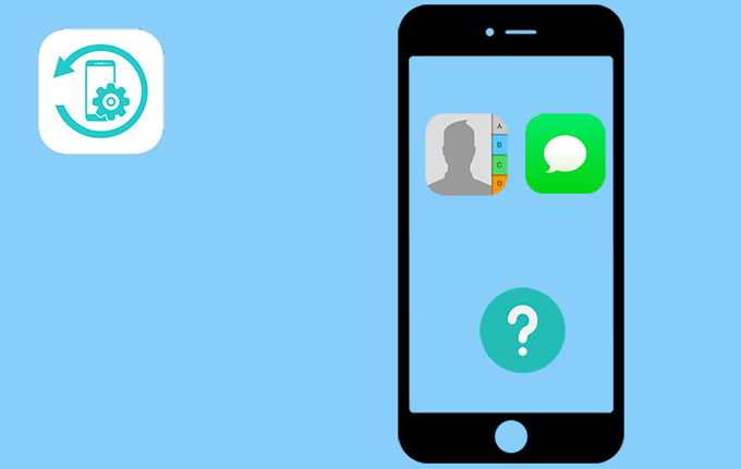 Contacts et Messages iOS