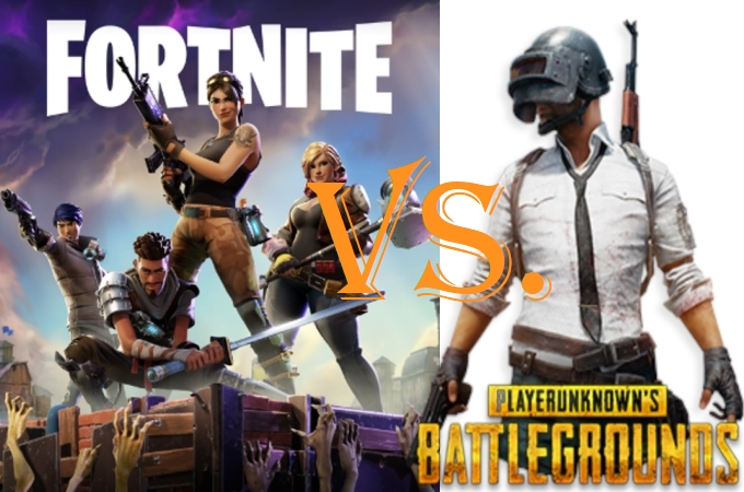 Fortnite Battle Royale vs PUBG