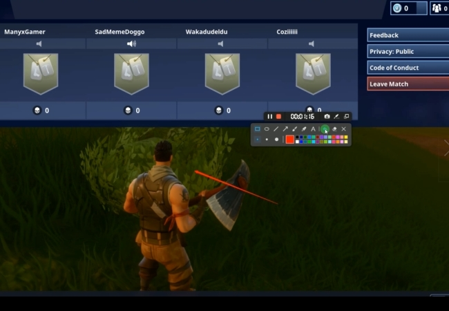enregistrer fortnite sur apowerrec